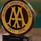 Brend Hotels named 'AA Hotel Group of the Year'