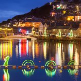 Mousehole Christmas Lights