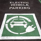 Electric car charging available at the Devon Hotel