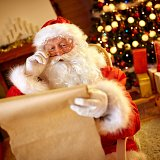 Meet Father Christmas at Arlington Court